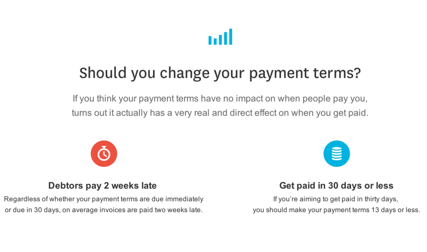 Xero Invoice Payment Terms Top Seven Tips SeaChange Accounting - Invoice 30 day terms